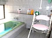 おもしろいデイ施設内風呂場写真